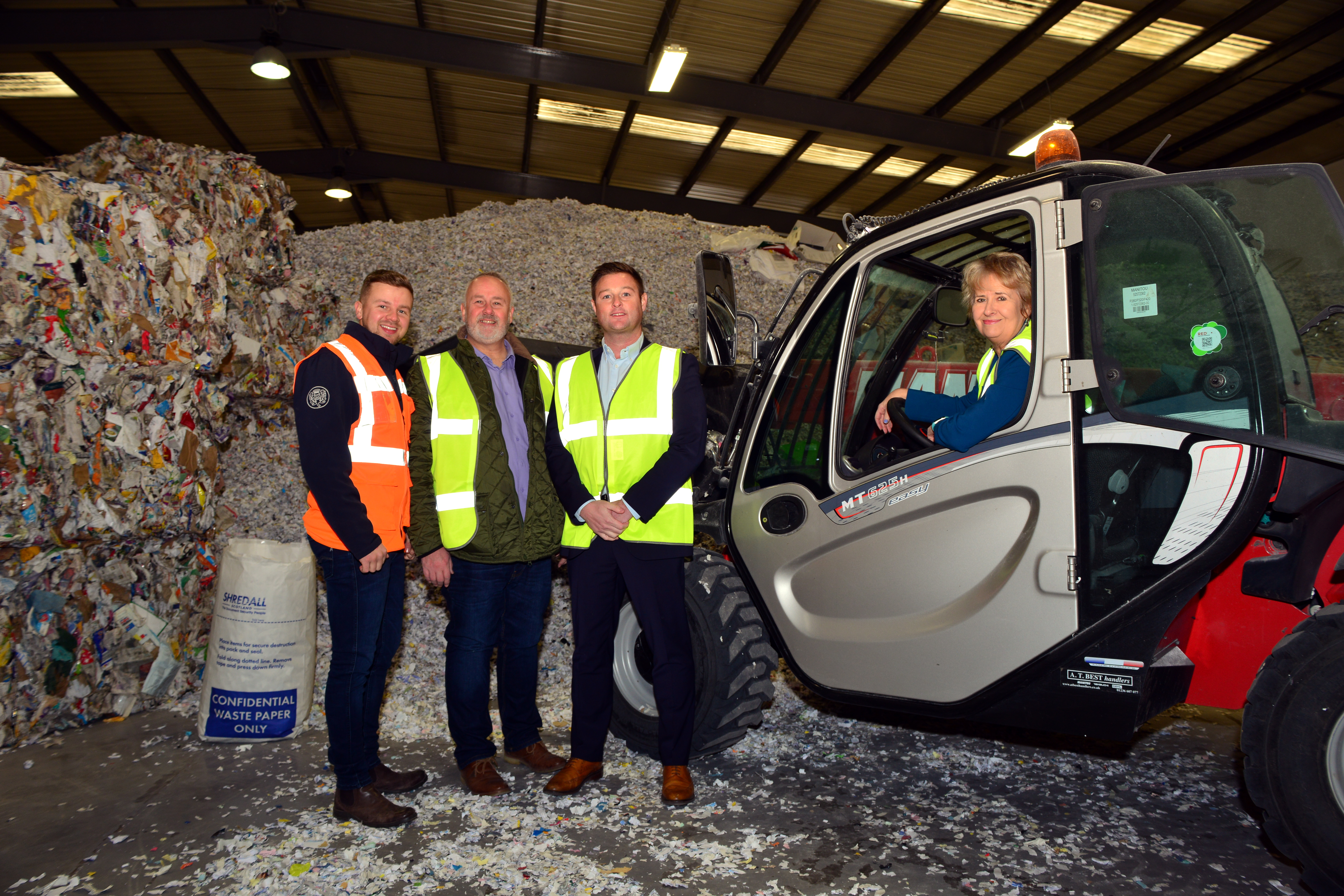 Environment Secretary Roseanna Cunningham visits new Scotland depot to promote circular economy