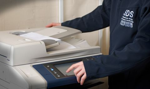 Document scanning for a Midlands-based law firm