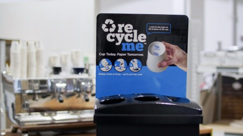 Shredall SDS Group launches award winning recycling system for takeaway cups
