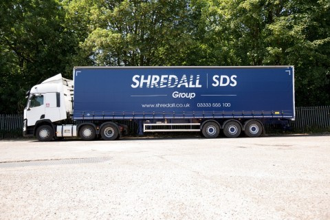 Shredall SDS Group Have Invested In An Articulated Lorry