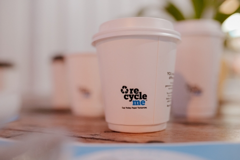 Paper Cup Recycling for an Energy Supplier