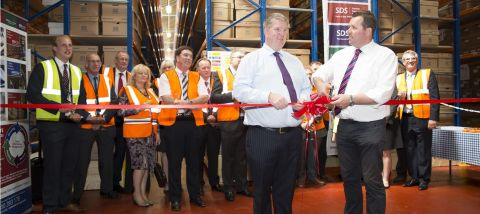 Mark Spencer MP 'officially' opens SDS Document Storage Archive
