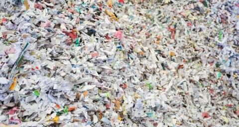The wonders of bulk shredding- Where do your shredded documents go?