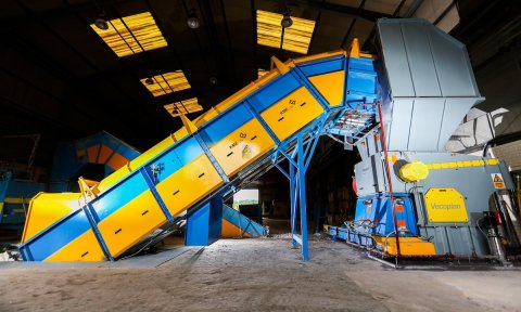 New shredding machine doubles current company output